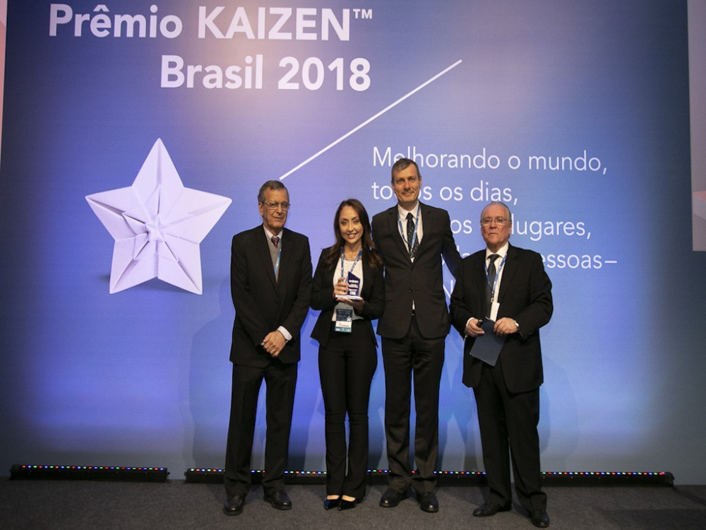 Embraco awarded with the Prêmio KAIZEN™ Brasil 2018, Category: Excellence in Quality