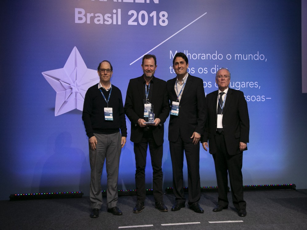 ZEN awarded with the Prêmio KAIZEN™ Brasil 2018, Category: Excellence in Growth Strategy