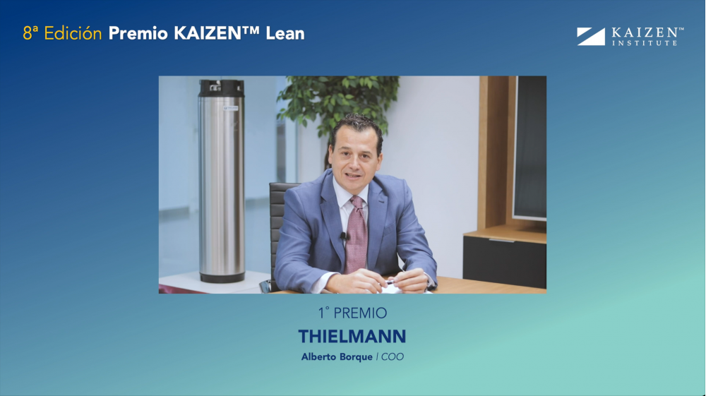 THIELMANN awarded with the Prémio KAIZEN™ Lean Spain 2020, Category: Excellence in Continuous Improvement System